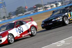 #60 J Pauley Motorsports Toyota Supra: Ron Pawley, Eric Van Cleef and #52 Rehagen Racing: Larry Rehagen, Dean Martin