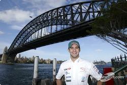Antonio Pizzonia visits Sydney