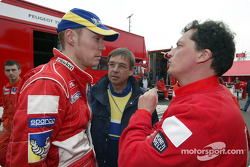 Richard Burns and his new engineer Christian Deltombe