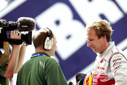 Frank Biela, fastest Audi driver during qualifying at Sebring