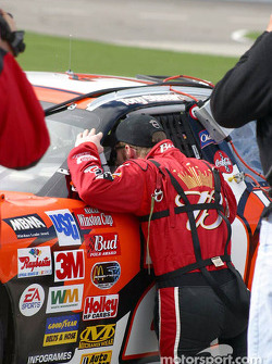 Dale Earnhardt Jr. and Tony Stewart