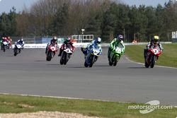 Race 2: first lap