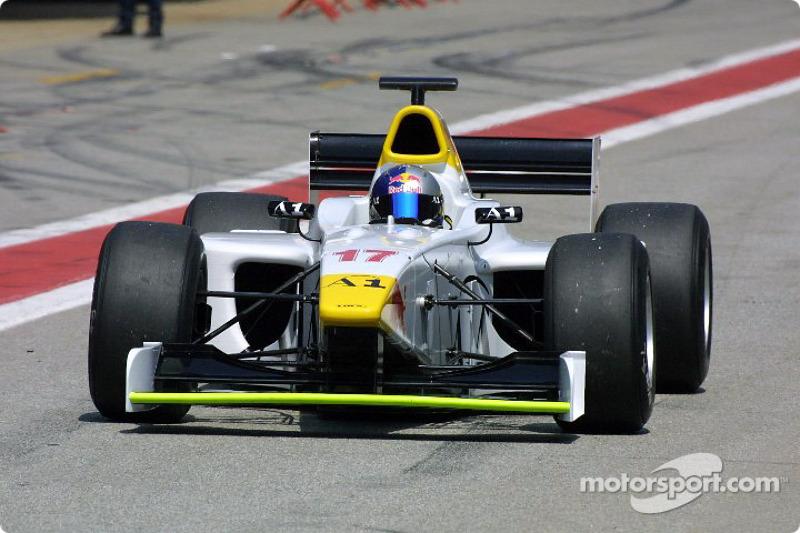2001-2003 (годы в программе Red Bull): Патрик Фризахер