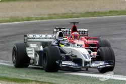 Ralf Schumacher and Rubens Barrichello