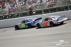 Jimmie Johnson and Sterling Marlin