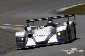 Paul Frere in the Audi R8.
