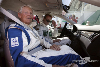 Paul Frere and Frank Biela in the Audi RS 6.