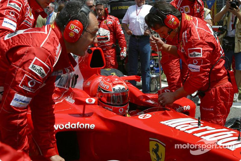 2003 Spanish GP, Ferrari F2003-GA