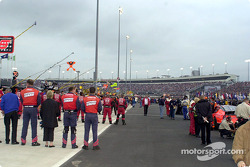The invocation before the race