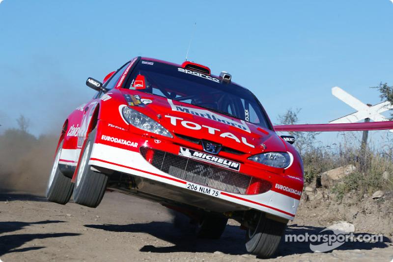 Ричард Бёрнс и Роберт Рид, Peugeot 206 WRC, Ралли Аргентина 2003