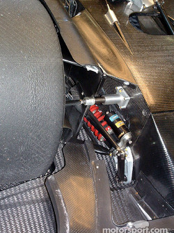 Lister front suspension