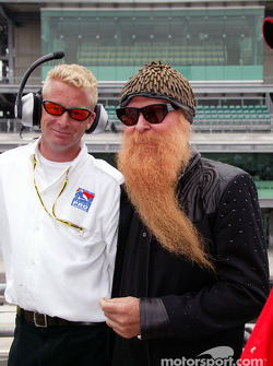 Pro Series starter Paul Blevin and Billy Gibbons of ZZ Top