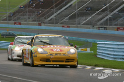 #23 TPC Racing Porsche GT3 Cup: Michael Schrom, Andy Lally