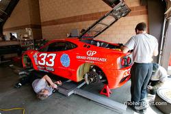 #33 Scuderia Ferrari of Washington Ferrari 360GT: Cort Wagner, Brent Martini