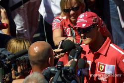 Interview for Michael Schumacher
