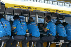 Renault F1 pitwall