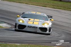 #63 ACEMCO Motorsports Ferrari 360 Modena: Andrew Davis, Shane Lewis