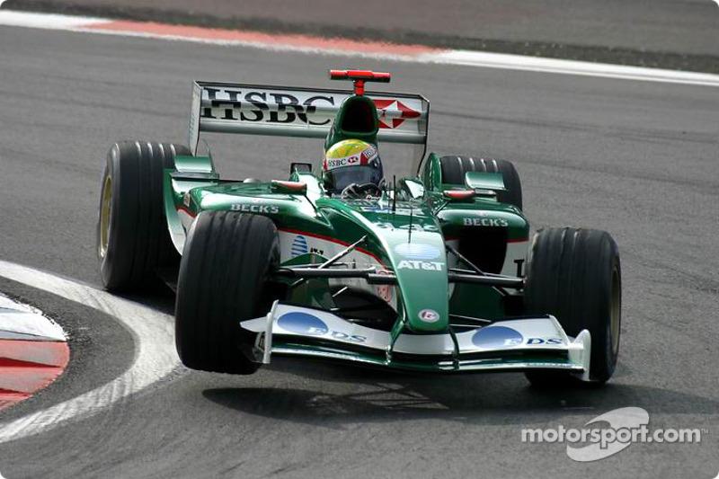 2003: Dreimal Platz 6 mit dem Jaguar R4