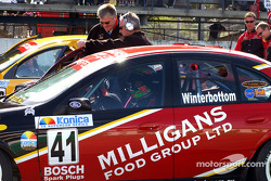 Winterbottom on the front row of the grid