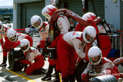 Pitstop practice at Toyota