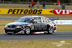Paul Morris testing the new Holden Motorsport engine during practice