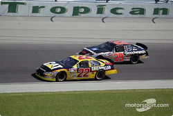 Ward Burton and Kevin Harvick
