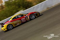 #29 JMB Racing USA / Team Ferrari Ferrari 360 Modena: Andrea Garbagnati, Ludovico Manfredi