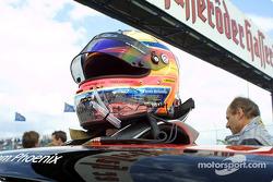 Timo Sheider's helmet