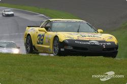 la BMW M3 n°49 de l'équipe Competition Preparation pilotée par Howie Liebengood, Don Knowles