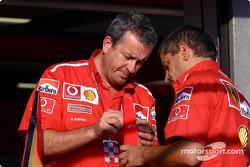 Ferrari takım elemanları