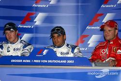 Press conference: Juan Pablo Montoya, Ralf Schumacher and Rubens Barrichello