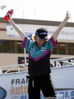 Pro Stock Bike rider Karen Stoffer
