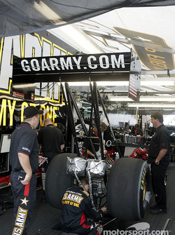 Tony Schumacher's Top Fuel dragster