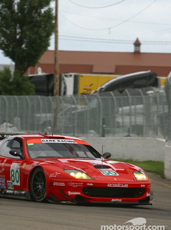 #80 Prodrive Racing Ferrari 550 Maranello: Jan Magnussen, David Brabham