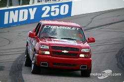 IRL Chevy safety trucks