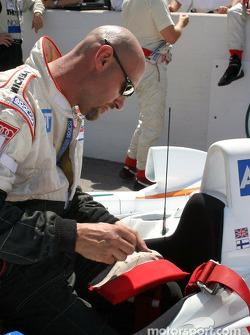 Champion Racing team member