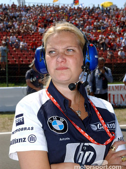 Williams-BMW aerodynamist Antonia Terzi