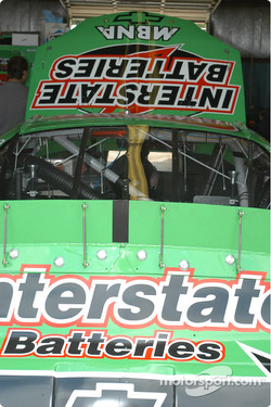 Interstate Battery on the Matt Kenseth car