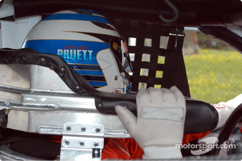 Scott Pruett in the car