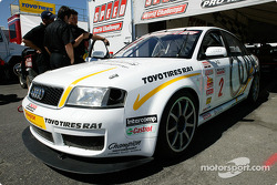 Randy Pobst's #2 Champion Racing Audi RS6