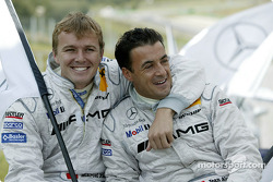 Drivers presentation: Marcel Fassler and Jean Alesi