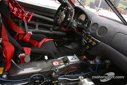 Cockpit of the #33 Scuderia Ferrari of Washington Ferrari 360GT