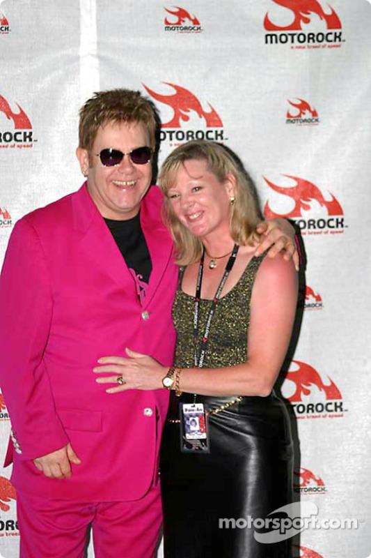 Concert d'Elton John : Elton John
