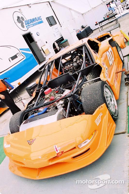 #40 Derhaag Motorsports Corvette