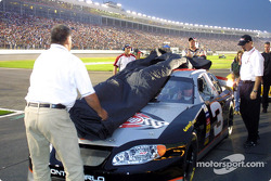 Chocolate Myers unveils Dale Earnhardt Tribute Car