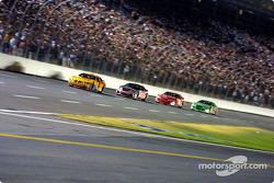 Kevin Lepage, Kevin Harvick, Dale Earnhardt Jr. and Bobby Labonte