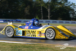 la Pilbeam MP91 n°56 du Team Bucknum Racing pilotée par Jeff Bucknum, Bryan Willman, Chris McMurry