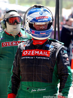 Englishman John Cleland ready to join the race