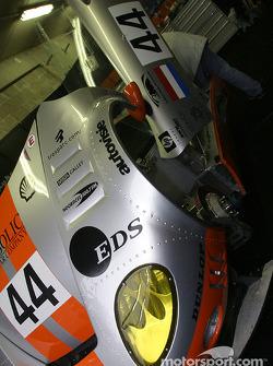 Spyker Automobielen garage area