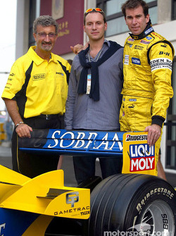 Eddie Jordan, David Paysant and Ralph Firman